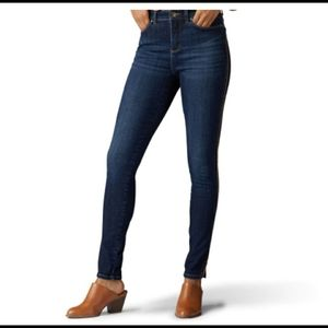 Lee Perfect Fit 1889 Skinny Zip Ankle Jeans sz 4